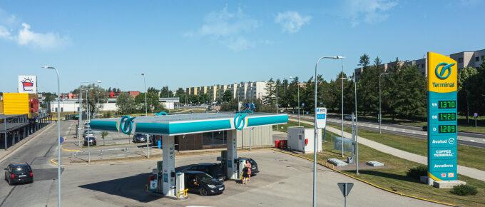 Terminal Oil Annelinn automaatjaam