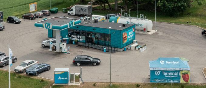 Terminal Oil Nõo teenindusjaam
